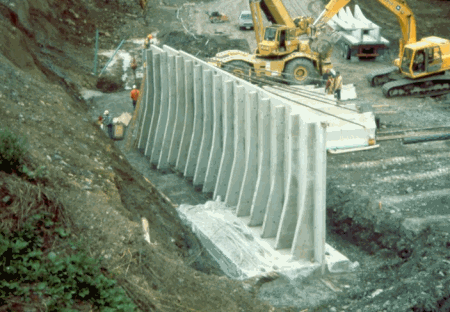 ACI 318 08 Design of Retaining Wall with Counterfort