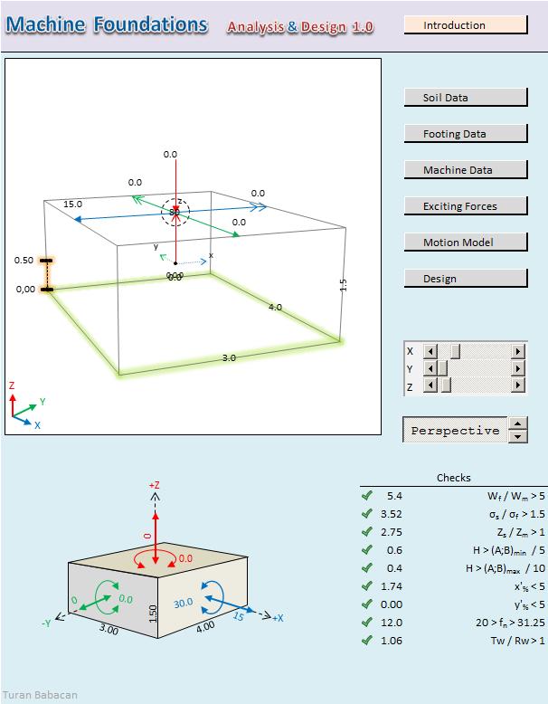 Machine Foundation Analysis and Design