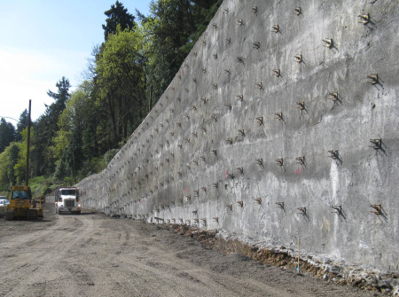 IksaPro - Retaining Wall with Anchors