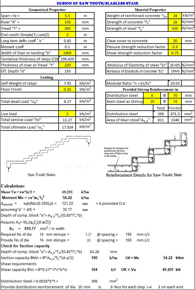 SLABLESS STAIR DESIGN