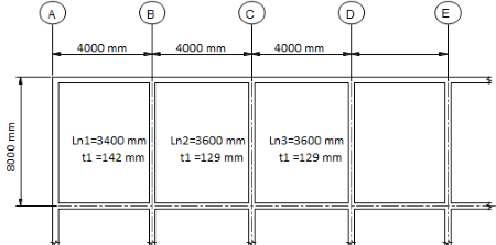 DESIGN OF ONE-WAY RC SLAB ACCORDING TO CSA A23.3-14