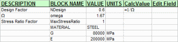 Calculator for assessment of steel structures to AS4100